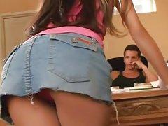 Porno skolēns skolotāju dzelksnis uz un tajā pašā laikā