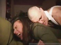Vaļsirdīgs video meiteņu porno brunete pēc tam, kad patīkamu masāžas
